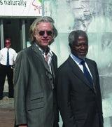 Annan and Geldof