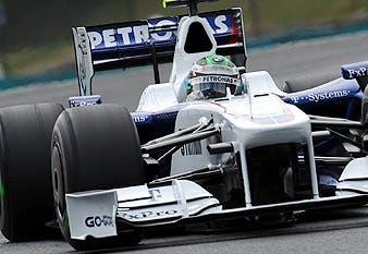 BMW driver Nick Heidfeld