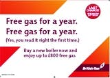 British Gas DM campaign