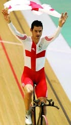 Commonwealth Games England cyclist
