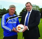 Carlo Ancelotti and Andy Scott