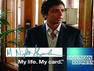 American Express campign