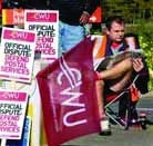 Industrial action: Postal workers