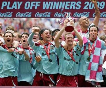 Burnley - Championship play off final winners