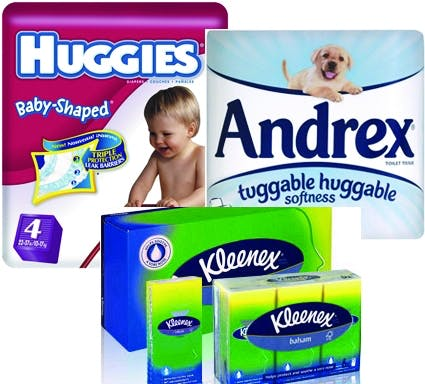 Kimberly Clark brands