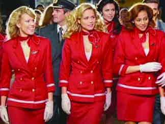Virgin Atlantic advert