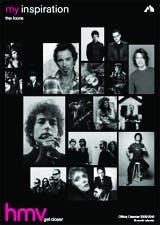 """HMV """"my inspiration"""" campaign"""