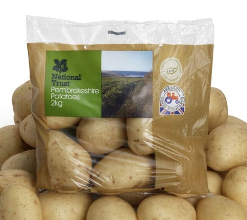 National Trust Potatoes