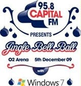 The Jingle Bell Ball with Windows 7