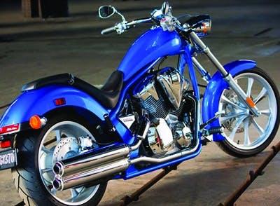 Honda motorcycle.