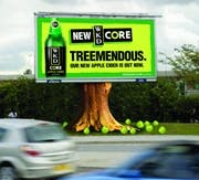 WKD Core Outdoor campaign