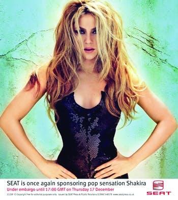 Seat and Shakira