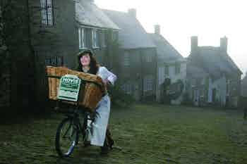 Hovis ad featuring Olympic cycling champion Victoria Pendleton