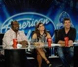 American Idol judges with Coke