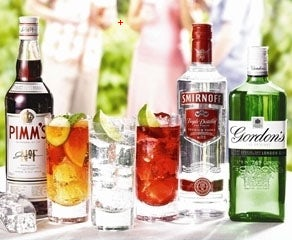 Diageo drinks