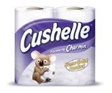 Charmin rebrands to Cushelle