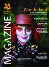 National Trust Magazine features Johnny Depp