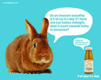Innocent drinks advert