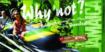 The Jamaica Tourist Board campaign