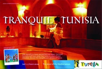 The Tunisian National Tourist Office campaign