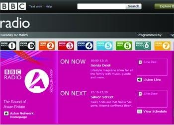 BBC Radio website