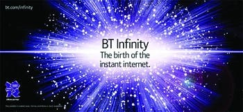 BT Infinity campaign
