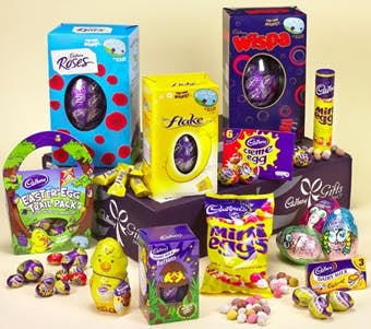 Cadbury's Easter eggs