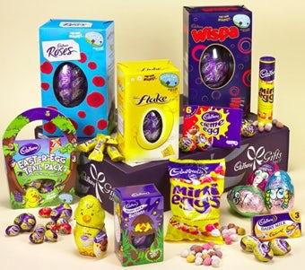 Cadbury's Easter eggs