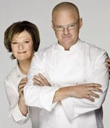 Delia Smith and Heston Blumenthal