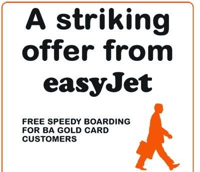 EasyJet advert