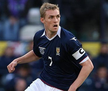 Darren Fletcher - Scotland captain