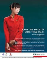 Cathay Pacific campaign