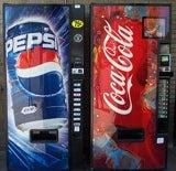 Pepsi and Coca-Cola