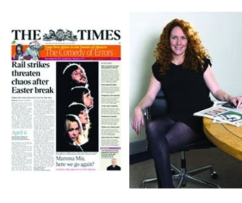 The Times and Rebekah Brooks
