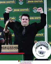 Peter Kay returns to John Smith's