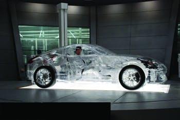 Shell glass car