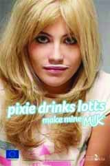 Pixie Lott in milk campaign