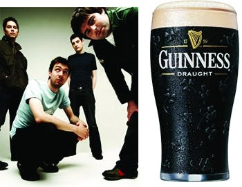 Snowpatrol and Guinness
