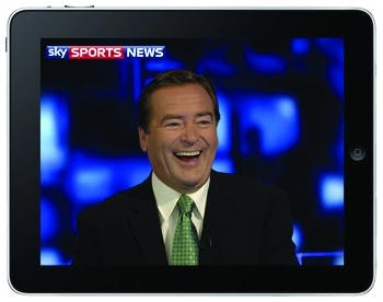 Sky Sports on the iPad
