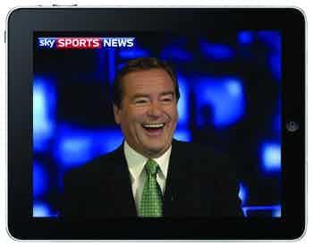Sky Sports on the iPad