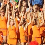 Stunt by Dutch beer brand Bavaria at the World Cup