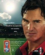 Roger Federer's Gillette campaign
