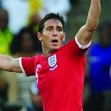 Lampard in England vs Germany match