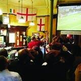 Football in a pub