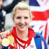 Olympic gold winner Rebecca Adlington