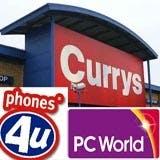 Currys, PC World, Phones4u