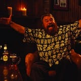 Brian Blessed in Abbot Ale campaign