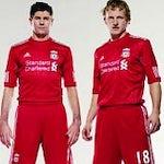 Liverpool Standard Chartered shirts