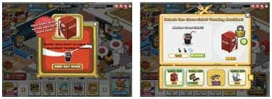Refreshing incentive: Playfish's Restaurant City game ran a Coca-Cola campaign before Christmas