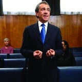 Robert Lindsay in Channel 4's Trial of Tony Blair drama
